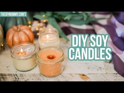 FALL DIY 🍂 3 Ways to Make Soy Candles