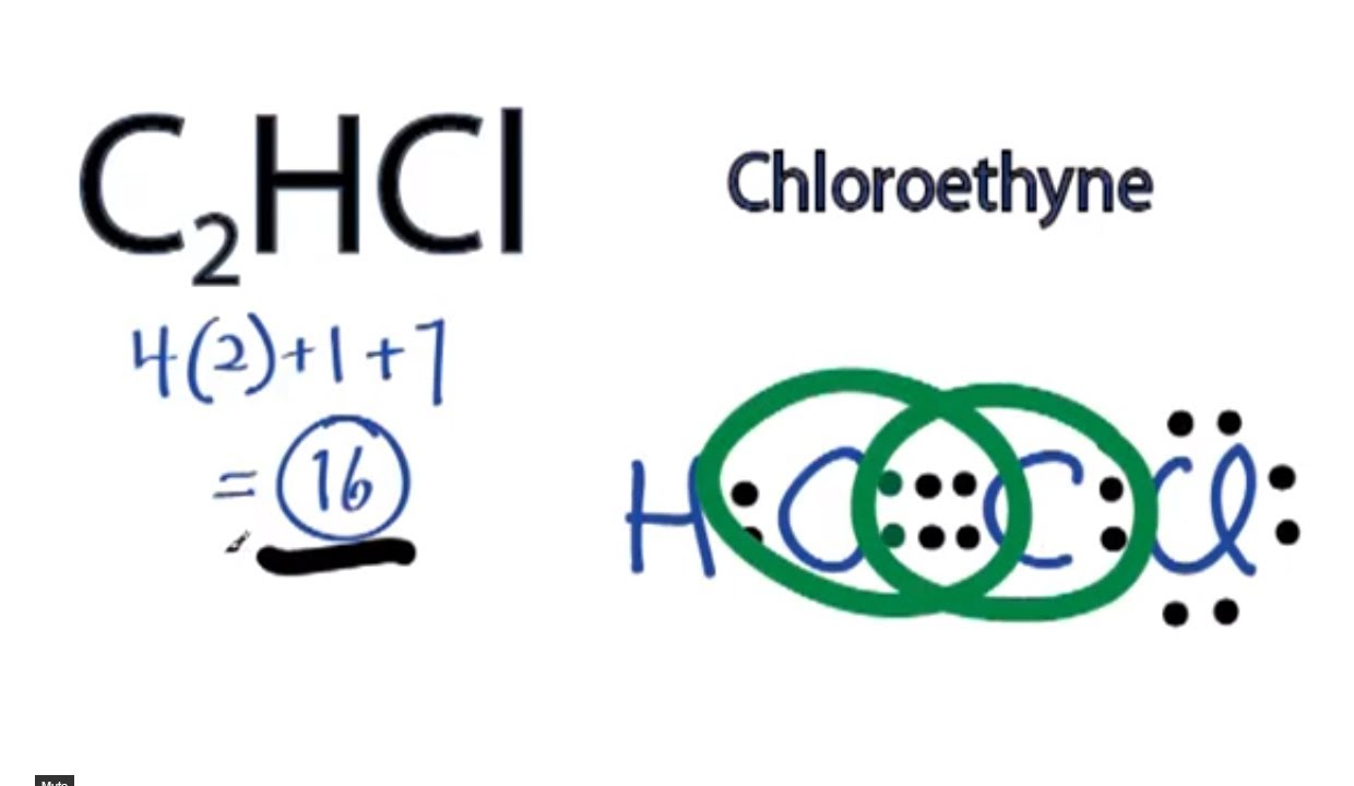 C2HCl Lewis Structure: How to Draw the Lewis Structure for ...