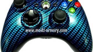 Blue Carbon Fiber Controller | Modz Armory