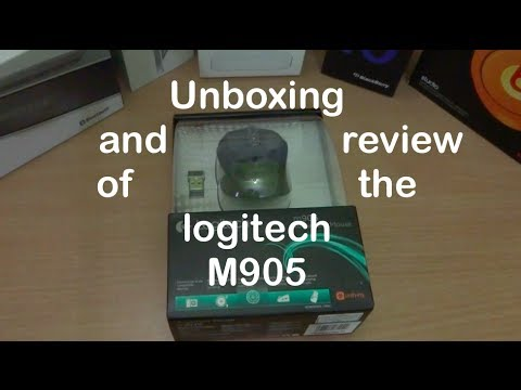Unboxing And Review Of The Logitech M905