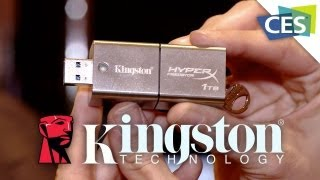The 1 Terabyte DT HyperX Predator Flash Drive - CES 2013