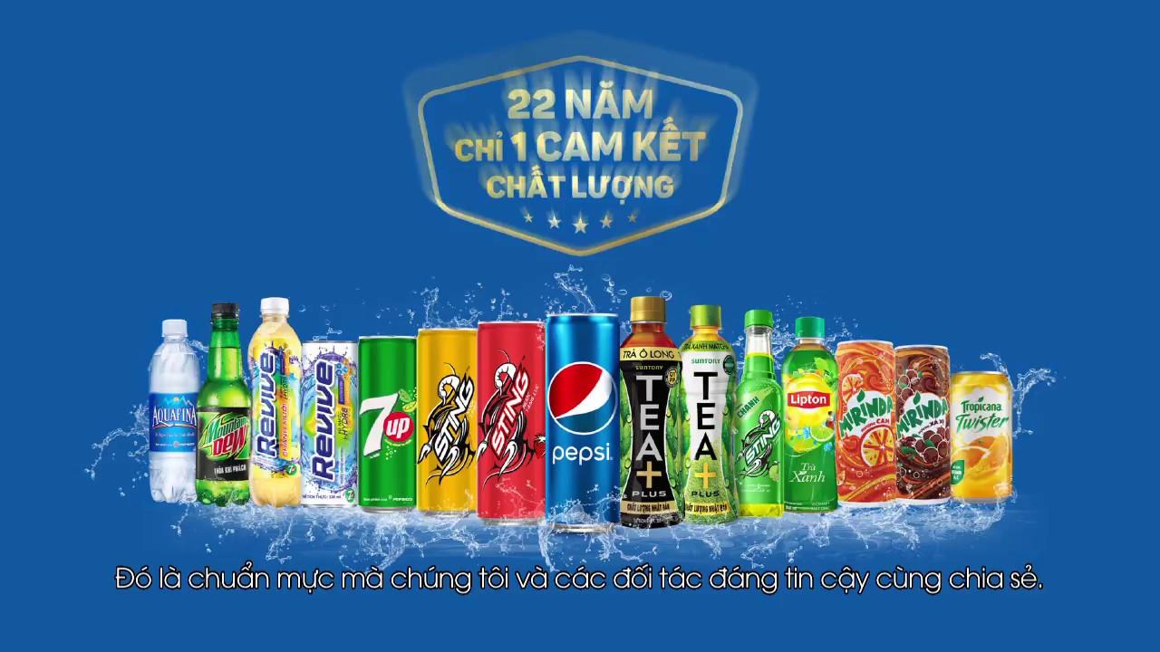 Pepsico – Uy tín và cam kết với đối tác