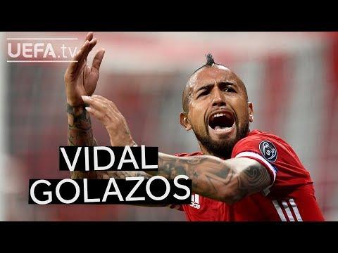 #EnjoyVidal Barça new boy Arturo Vidal's best strikes