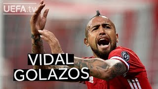 #EnjoyVidal Barça new boy Arturo Vidal's best strikes