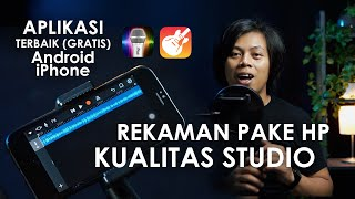 CARA REKAM SUARA DI HP - HASIL SEBAGUS REKAMAN STUDIO (iPhone/Android) screenshot 1