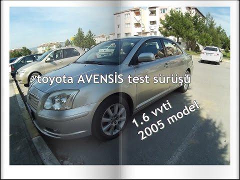 2005 toyota avensİs inceleme test sürüşü - youtube