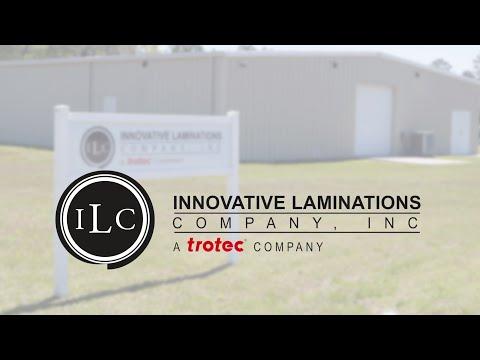 Innovative Laminations Company produces Trotec Engraving Materials