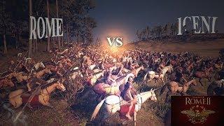 Rome vs Iceni, BIG BATTLE in Total War: Rome II (PC)