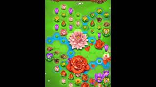 Blossom Blast Saga Level 223 No Boosters