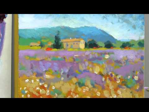 How to paint like Monet: Part 4 – Step-by-step Impressionist landscape painting