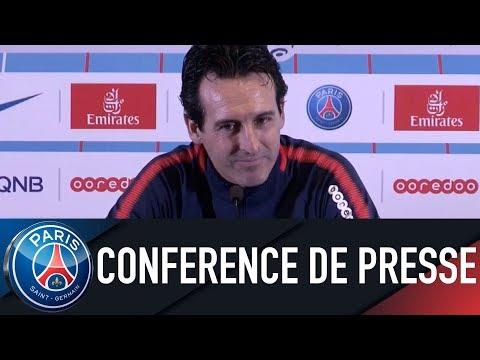 Paris Saint-Germain press conference OLYMPIQUE LYONNAIS vs PARIS SAINT-GERMAIN