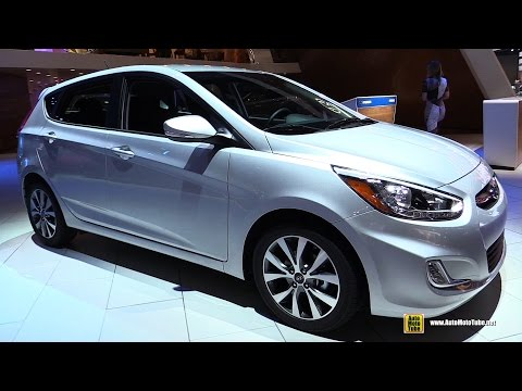 2016 Hyundai Accent Exterior and Interior Walkaround 2016 Detroit Auto Show
