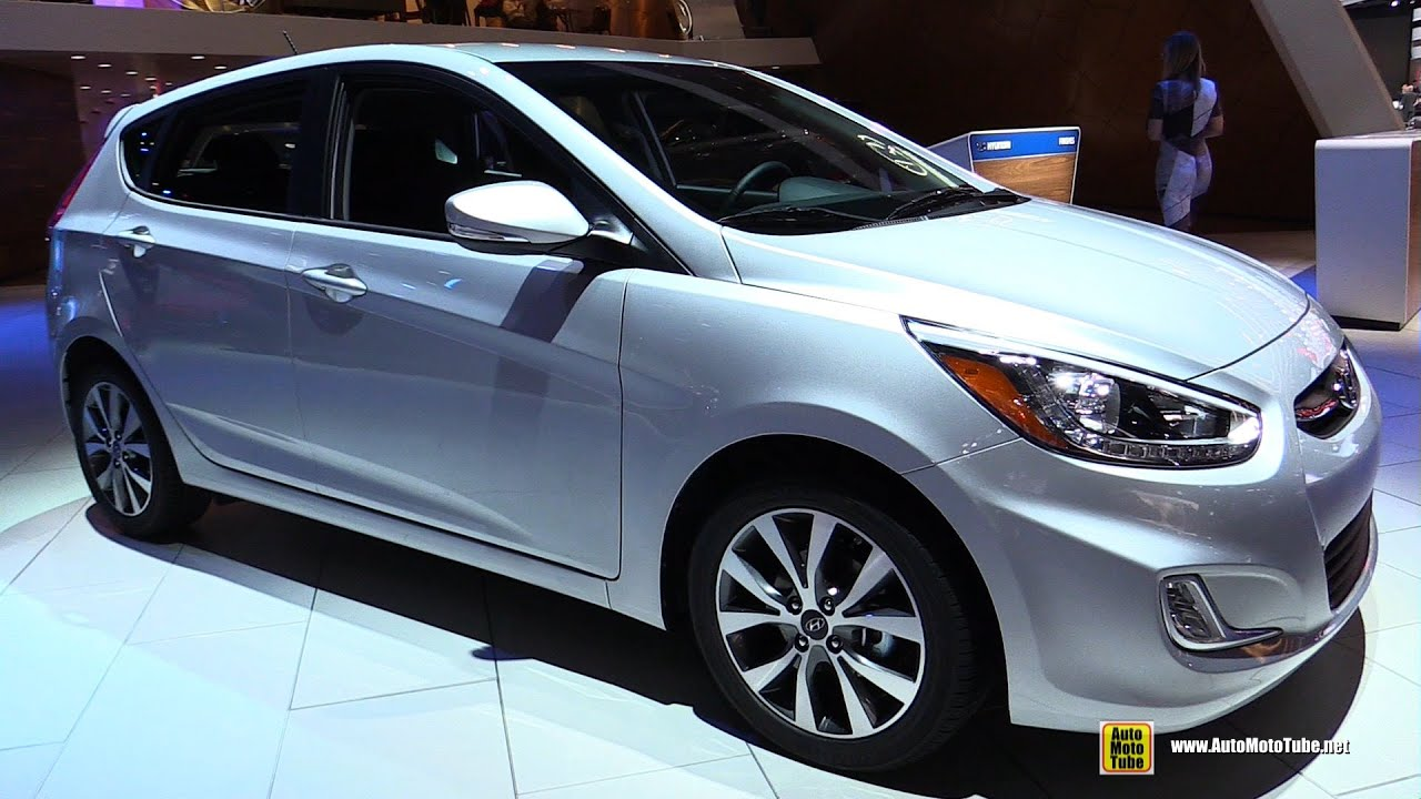 2016 hyundai accent exterior and interior walkaround. Black Bedroom Furniture Sets. Home Design Ideas