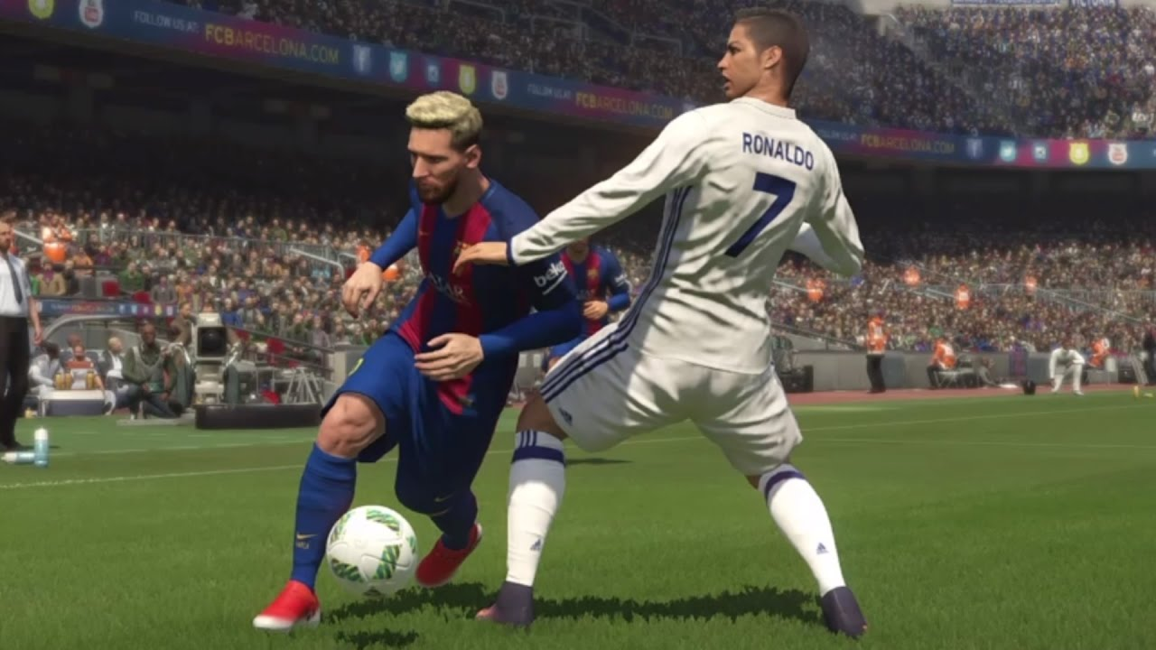 Real Madrid Vs Barcelona Gameplay