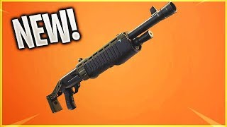 SHOTGUN PUMP DE NOUVEAU LEGENDARY à Fortnite ! - Fortnite Battle Royale Fuite Shotgun (Insane)