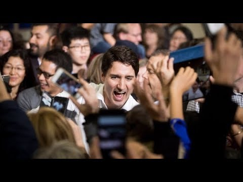 Over THOUSAND People Show Up @ Justin Trudeau Event In South Surrey - White Rock By-Election