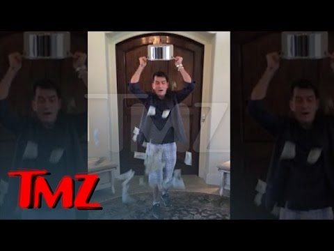 Thumbnail: Charlie Sheen -- Ice Bucket Challenge with a BIG Twist | TMZ