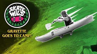 David Gravette Goes to SKATE WILD Camp!