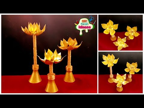 10 Minutes Genius Plastic Bottle Crafts Ideas To Make In 10minutes | Lotus  | Diy Craft Ideas