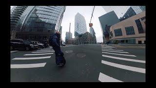 Gotway Msuper X EUC Top Speed Riding In Manhattan