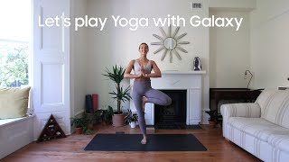 Galaxy Watch: Let's play Yoga with Cat Meffan | Samsung