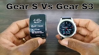 Gear S vs Gear S3 What's The Difference?