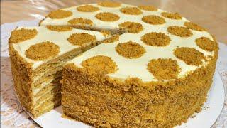 Торт Медовик Самый вкусный рецепт Eng oson Mazali Asalli Tort