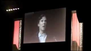 Benedict Cumberbatch discusses Sherlock with Louise Brealey (2/3)