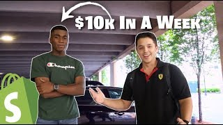 He Made $10k Dropshipping In The First Week!