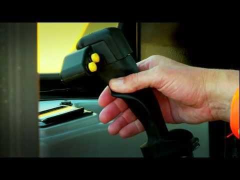 Cat® PL83 & PL87 Pipelayers | Single Lever Joystick Control