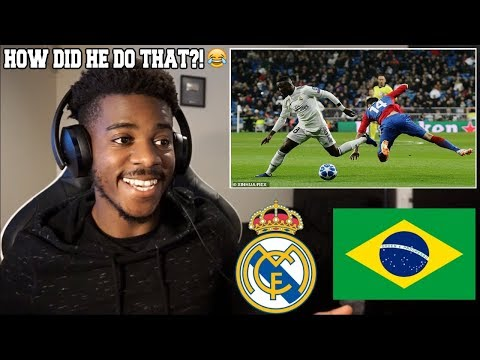 20 TIMES VINÍCIUS JR IMPRESSED THE WORLD WITH HIS TECHINQUE & SPEED 2019  Reaction