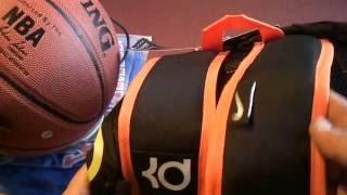 Баскетбольный рюкзак Nike  Kevin Durant черный магазин BASKET FAMILY