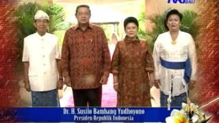 TVRI Bali - Ucapan Selamat Hari Raya Galungan dan Kuningan Presiden RI (Maret/April 2013)