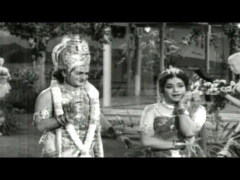 Sri Krishna Vijayam || Ramani Oo Ramani Video Song || NTR, Jayalalitha