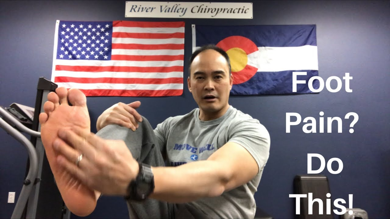 how to break foot without pain
