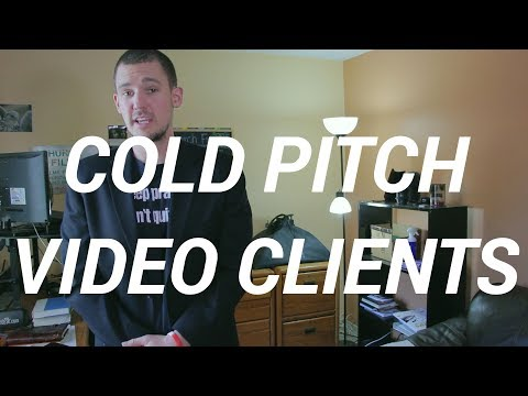 How To Cold Pitch Your Video Production Services