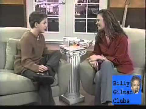 Billy Gilman - interview Great American Country show 2003 3