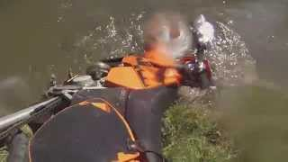 Dad saves son from dam