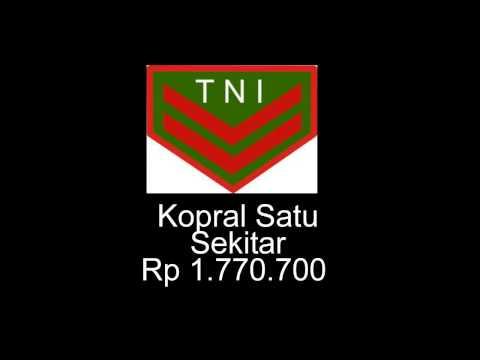 Download lagu Inilah Jumlah Gaji TNI dari Pangkat Terendah sampai Tertinggi