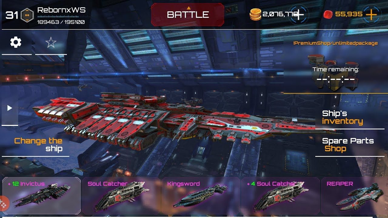 planet commander invictus gameplay strongest ship in the
