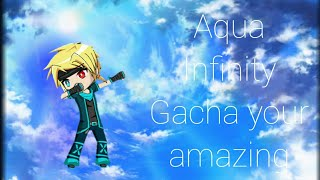 Aqua Infinity Gacha your amazing link to her channel in description 👇