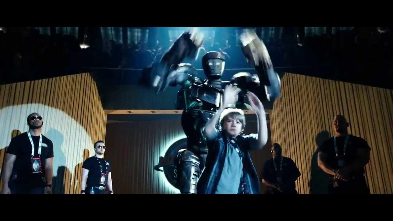 Download Atom & Max Dance (Real Steel) HD