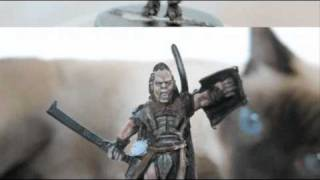 Painting Alternative Colors for Orc/Lurtz-Isengard Diorama Part 9