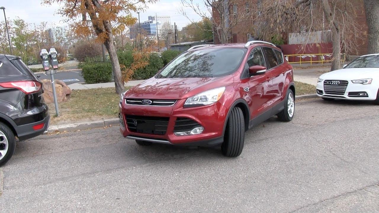 2017 Ford Escape Man Vs Machine Self Parking Challenge Tech Review You