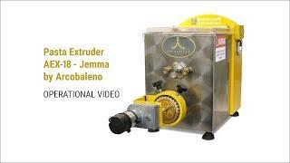 Pasta Extruder AEX-18 - Jemma by Arcobaleno (P363)
