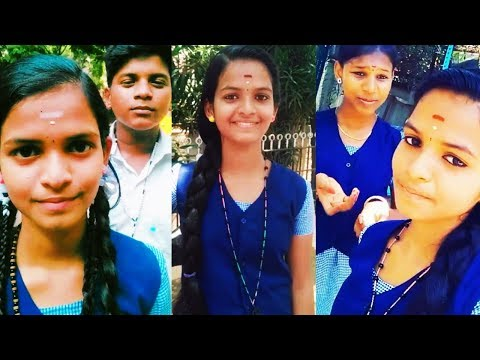Nithiya (TikTok ID : @user999067827) _ Tamil Cute School Girl Tik Tok Dubsmash Musically Videos | New MUSIC Song Download | | Mp3 Song Download