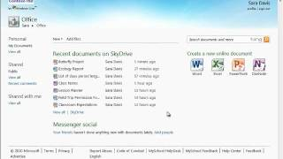 15 - SkyDrive Basics