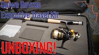 Daiwa Revros LT Executive Travel Kit UNBOXING!