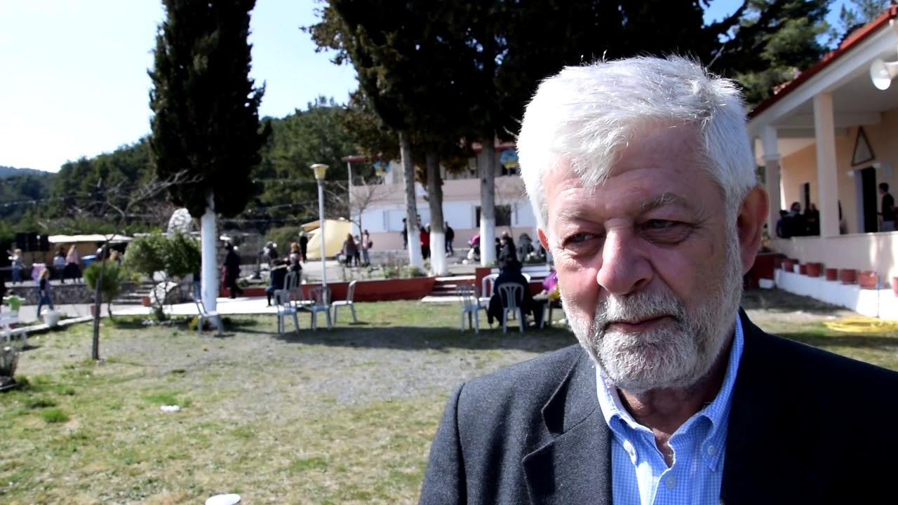 Ο Δήμαρχος Τρίπολης στα κούλουμα στην Αγία Τριάδα στο (Σέχι)