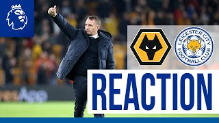 'We Defended Brilliantly' - Brendan Rodgers | Wolves 0 Leicester City 0